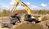 Cat 330B 挖掘机视频