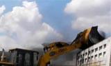 忙碌的厦工装载机视频