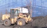 徐工LW500FN装载机堆煤视频