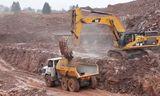 卡特彼勒365C 挖掘机装载利勃海尔TA230自卸车 强强联合