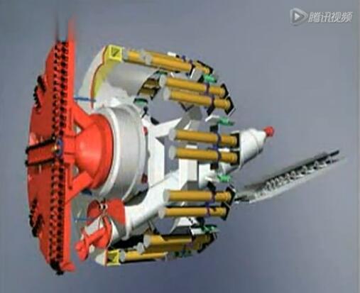 涨姿势!大型盾构机组装过程即掘进作业实拍