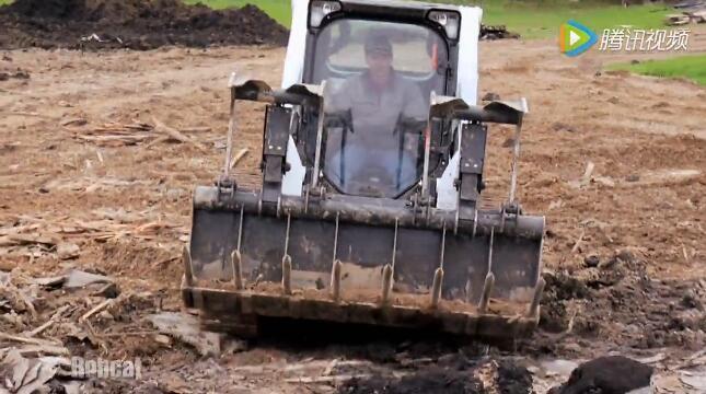 山猫叉齿式工业抓斗视频
