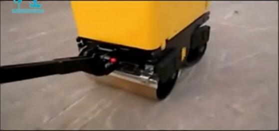 全液压手扶式压路机 双钢轮