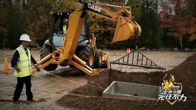 凯斯N系列挖掘装载机视频