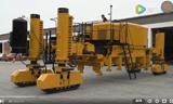 现代化的道路建设机械 惊人的工程机械 这得省下来多少人力
