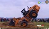 凯斯工程机械在农机展设备表演