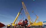 世界上最大的挖掘机在中国组装成功