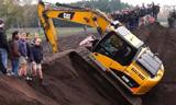 惊人的挖掘机救援 疯狂的挖掘机操作