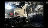 挖掘隧道工作视频