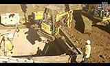 住友挖掘机工作视频