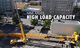 利勃海尔LTM1750-9.1全地面起重机拆卸塔吊