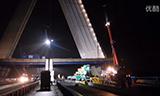 利渤海尔全地面起重机在大桥工作