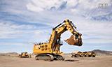 卡特6030矿用挖掘机测试视频