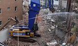 卡特390D 30米长臂重型挖掘机拆楼