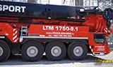 利勃海尔LTM 1750-9.1大型全地面起重机
