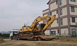 小松PC300-8挖掘机上板车