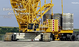 利渤海尔LR1500履带式起重机组装全程