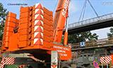 TEREX德马格AC 500-2全地面起重机吊装桥梁