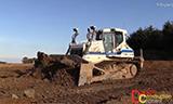 利渤海尔PR736推土机工作