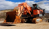 HITACHI日立EX5500正铲挖掘机调试