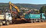 卡特彼勒323DL2挖掘机在德国装车