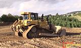 卡特彼勒D6T推土机工作