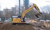 卡特329E挖掘机装车