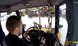 纽荷兰LB 115.B两头忙除雪
