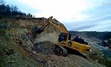小松 PC490LC-11挖掘机在工作