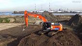 日立ZH210LC混合动力挖掘机
