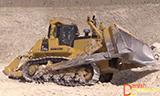 小松D375A 推土机工作