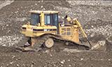 卡特彼勒D6RLGP推土机工作