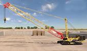 徐工研发的地铁施工、盾构吊装利器——增强提升型XGC260