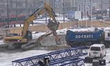 卡特彼勒330D挖掘机装车