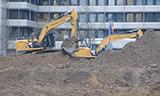 卡特324E和329E挖掘机工作