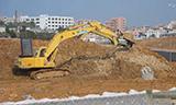 KOMATSU小松PC200-6挖掘机工作实拍