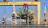 利渤海尔LG 1750-2履带式起重机工作