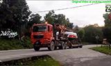 曼恩TGS卡车运输旋挖钻机