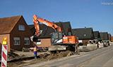 日立Zaxis170W轮式挖掘机工作