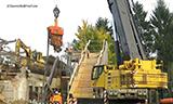 利渤海尔LTM 1100-5.1全地面起重机拔桩