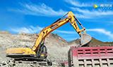 雷沃FR370E挖掘机显身手 凭啥征服铁矿大客户