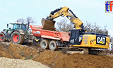 卡特彼勒326F LN挖掘机工作