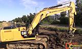 卡特彼勒336E挖掘机工作