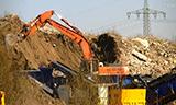 日立Zaxis 350LC 挖掘机工作