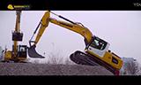 利渤海尔R 920与R 924挖掘机在展会