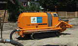 利渤海尔THS 110 D-K履带式混凝土泵机