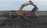卡特345B与卡特345C挖掘机装车