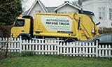 高科技!沃尔沃卡车和Renova测试自动驾驶垃圾装运车