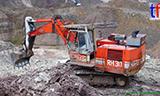 O&K RH30-D挖掘机工作