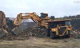 小松PC3000矿用挖掘机工作